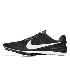 New Nike Zoom Victory 3 Mens Track & Field Spikes Mid Distance Shoes, Black, 11