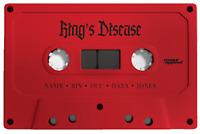 Nas - Kings Disease (New Cassette Tape Sealed!) Red Tape