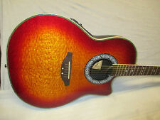 CLARITY ELECTRO ACOUSTIC STEEL STRING -- made in KOREA - SUNBURST
