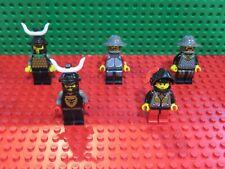 Lego® Figuren, Classic Ritter, Knights Kingdom 1, 5 Stück, sehr gut, Set 8