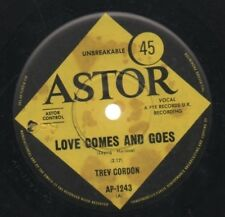 """TREV GORDON  THE BEE GEES   Rare 1966 Aust Only 7"""" OOP Astor Single """"Love Comes"""""""