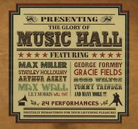 THE GLORY OF MUSIC HALL - MAX MILLER GEORGE FORMBY STANLEY HOLLOWAY - NEW CD!!