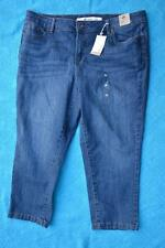 NEW Size 20 NEW Target SHAPE YOUR BODY Wash Denim Crop Pants. Skinny Crop Style
