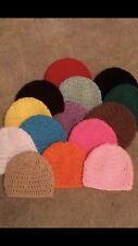 Crochet Newborn Baby Beanies Winter Warm Earwarmers