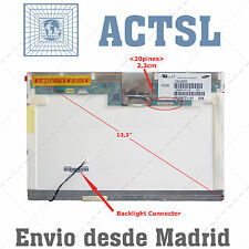 "LTN133AT08 LTN133AT08-001 LTN133AT08-004 LCD Pantalla Portatil 13.3"" WXGA suo"