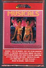 FAUSTO PAPETTI MUSICALS MC K7 MUSICASSETTA SIGILLATA!!!
