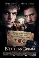 Die Brüder Grimm (Zweiseitig Regulär Stil E) (2005) Original Filmposter