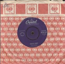 """Tex Ritter - Jealous Heart / Burning Sand - country 7"""" single 45rpm"""