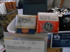 6Ag5 And 6Cf6, 2 Tested Good Tubes