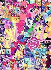 3 x my little pony enfants autocollant vinyle feuille girls twilight luna stickers bomb A4