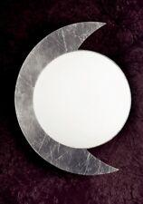 Plafoniera moderna in metallo foglia argento e vetro coll. GD 0178-PL30
