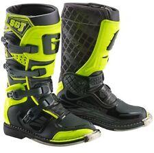 GAERNE SGJ YELLOW FLO/BLACK KIDS MX BOOTS, MOTOCROSS, ENDURO, OFF ROAD BOOTS