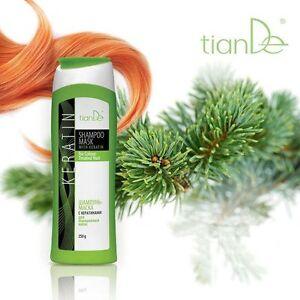 Tiande Shampoo - Mask Keratin Organic Treatment After Care Sulfate Free