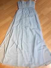 Women's Homecoming Powder Blue Strapless Formal Dress By David's Bridal Size 4