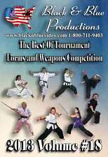 2013 Volume 18 Best of Forms and Weapons Competition 2 hours long DVD