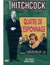 DVD Quatre de l'espionnage Hitchcock Occasion