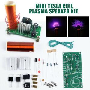 Mini Tesla Spule Plasma Lautsprecher 15W Musik Elektronisch DIY Kits Projekt