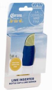 VACU VIN Lime Injector CORONA Lime Inserter Bottle Cap & Lime Server Brand New ⭐
