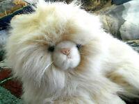 Persian long hair cat plush stuffed 12''