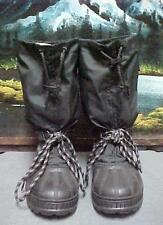 Sorel Kaufman Black Nylon Rubber Snow Winter Boots Women's Size 5 Medium