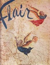 Flair December 1950 Christmas Giving Katharine Hepburn Elizabeth Arden Fashion