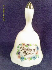 """[M12] 4"""" Porcelain Bell """"Thinking Of You"""" Japan"""