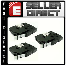 3 x compatible Brother P-Touch TZ231 PT1230PC PT1250 PT1260 pt1280 pt1290 bande