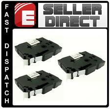 3 X hermano compatible Tz231 P-touch pt1230pc pt1250 pt1260 pt1280 pt1290 Cinta