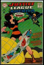 Dc Comics Justice League #60 Superman Flash Atom Batgirl vs Queen Bee Vg/Fn 5.0