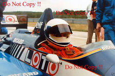 DIDIER PIRONI LIGIER f1 test PAUL RICARD circuito 1986 Fotografia