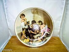 More details for lord nelson pottery plate children playing dice with guilding