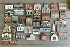 The Cats' Meow VillSeries Lot 36 Piece Collectible Buildings 1986 -1996