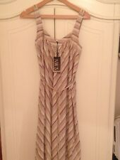 BNWT Hobbs NW3 Stripe Chevron Dress