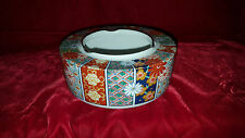 Imari Fan Fine China by Arita bowl ashtray with gold trim