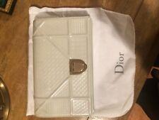 christian dior handbag new. Diorama Clutch In White