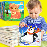KQ_ Wooden Puzzle Educational Developmental Baby Kids Training Toy For 12 Month-