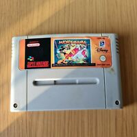 MICKEY MANIA SUPER NINTENDO SNES PAL GAME CARTRIDGE ONLY FREE P&P