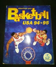 SL American Pro Basketball 94-95 – Fully Completed Album Figurine RARE