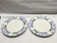 Thomson Pottery LIGHTHOUSE SAILBOATS  Dinner Plates set 2 replacement