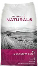 Diamond Naturals Dry Food for Puppy, Large Breed Lamb and Rice Formula, 40