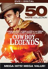COWBOY LEGENDS 50 MOVIE COLLECTION New 10 DVD Set John Wayne Randolph Scott