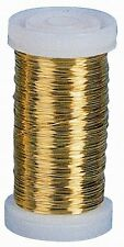 119-0060-005 - Messingdraht (Golddraht), 0,3 mm, 125 m, 100 g