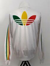 Adidas Rasta Jamaica Chile 62 Rare Retro Vintage Track Jacket M / Bob Marley