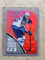 11-12 SPA SP Authentic Rookie Holo FX Die-Cut Red Ruby RC #RFX30 MARK SCHEIFELE