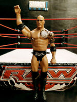THE ROCK WWE Mattel action figure BASIC kid toy PLAY Wrestling ATTITUDE ERA WWF