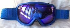 NEW $110 Scott FIX Mens RARE Blue Winter Snow Ski goggles Smith mirror lens