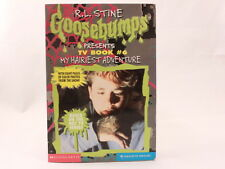 LIKE NEW! R.L. STINE - MY HAIRIEST ADVENTURE - Goosebumps Presents TV Book #6