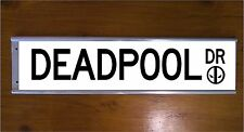 DEADPOOL STREET SIGN ROAD BAR SIGN - CHRISTMAS GIFT