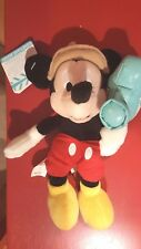 Disney Director Mickey Mouse Made in California Bean Bag Film Maker Movies w/tag