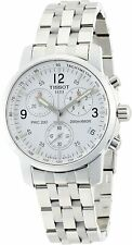 TISSOT T-Sport PRC 200 T17.1.586.32 WHITE Wristwatch T461 Chronograph Men's